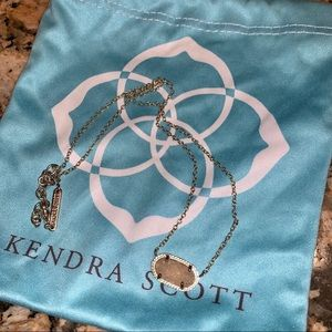 Kendra Scott Elisa Necklace Iridescent Drusy